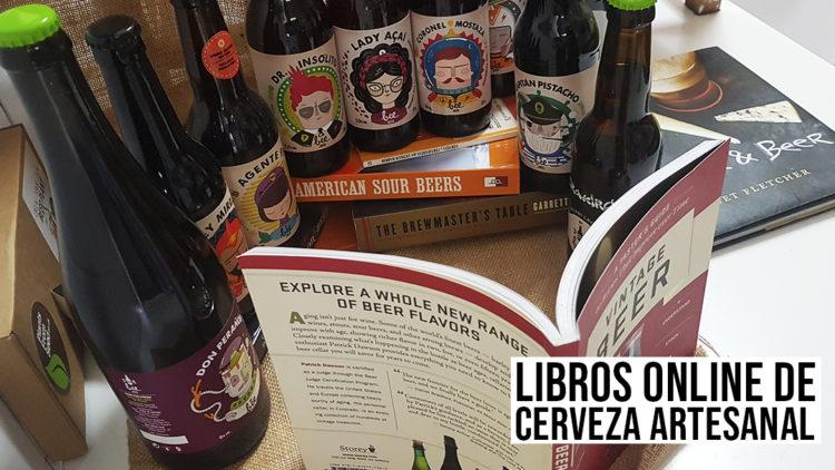 ¡Feliz Día del Libro! Libros online de Cerveza Artesanal