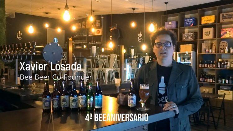 "Bee-Beer-4-Aniversario-Xavier-Losada-BLOG-750x422.jpg"">"