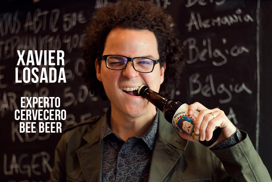 Xavier Losada, ¡nuestro experto cervecero #BeeBeer!