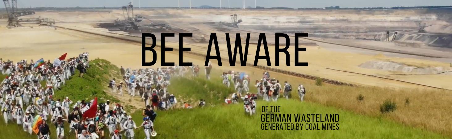 #BeeAware Coal Mines German Wasteland