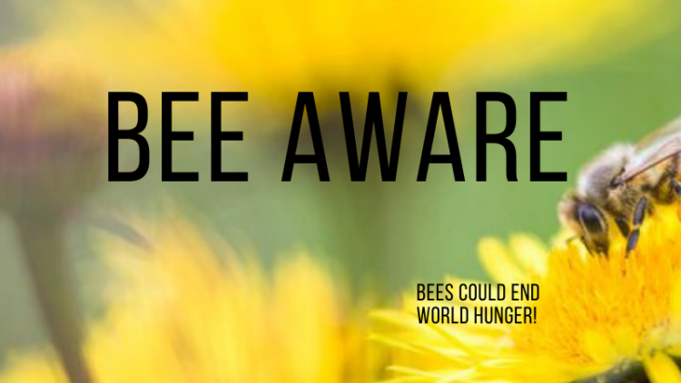 #BeeAware: Bees Could End World Hunger!